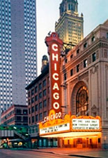 The Chicago Theatre Marquee Tour October