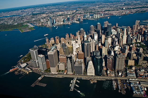 NYC Helicopter Tour Aerial Photo