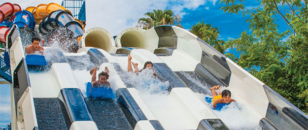 Aqua Racer at Wet n Wild Orlando