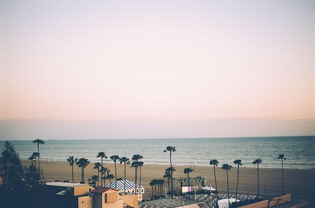 Beach in Los Angeles