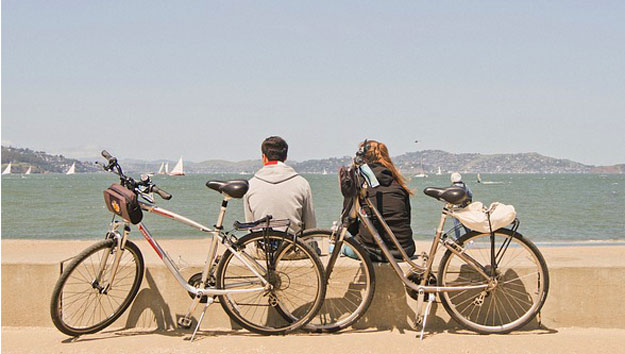 Biking in San Francisco