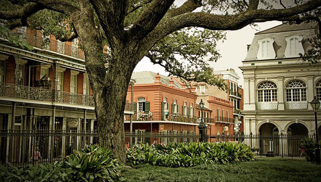 History in New Orleans