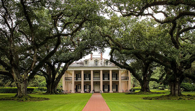 Oak Alley Plantation in New Orleans