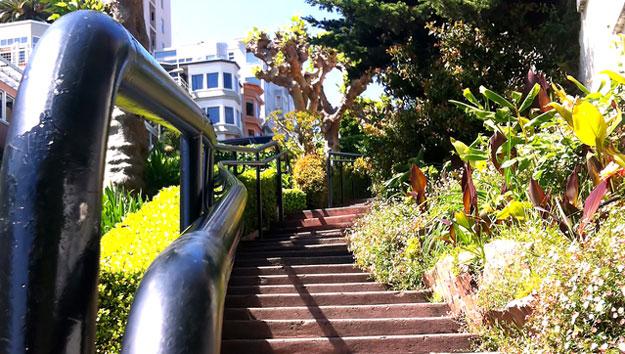 Street Stairway San Francisco