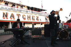 band playing on memphis natchez, a new orleans riverboat
