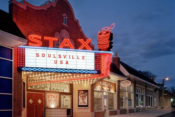 Stax Museum Marquee at Night