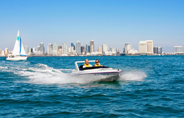 San Diego Speed Boat Adventure