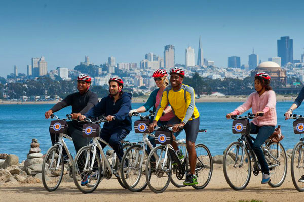 San Francisco Guided Golden Gate to Sausalito Bike Tour