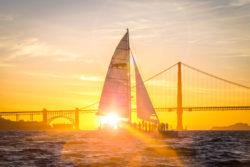 California Sunset Sail