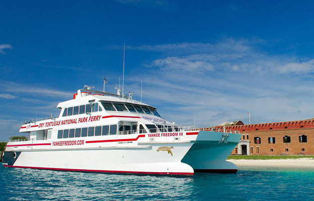 Dry Tortugas and Fort Jefferson Ferry