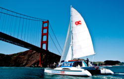 San Francisco Bay Day Sail aboard the Adventure Cat