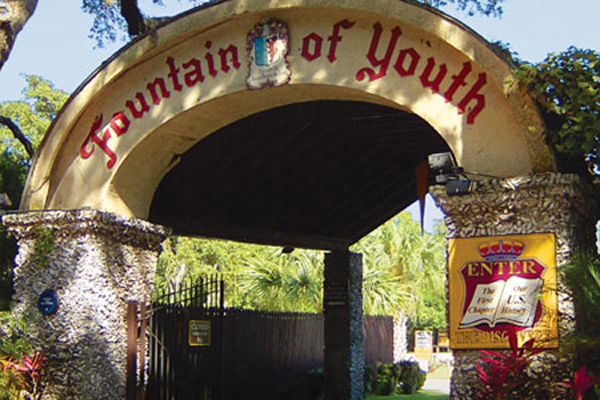 Photo of The Fountain of Youth Entrance