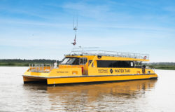 The Wharf Water Taxi in Washington DC