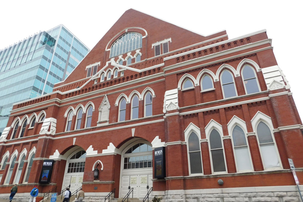 Historic Ryman Auditorium